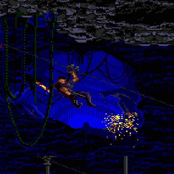 Demolition Man Sylvester Stallone Acclaim Xtreme Retro Sega Genesis Mega Drive 5