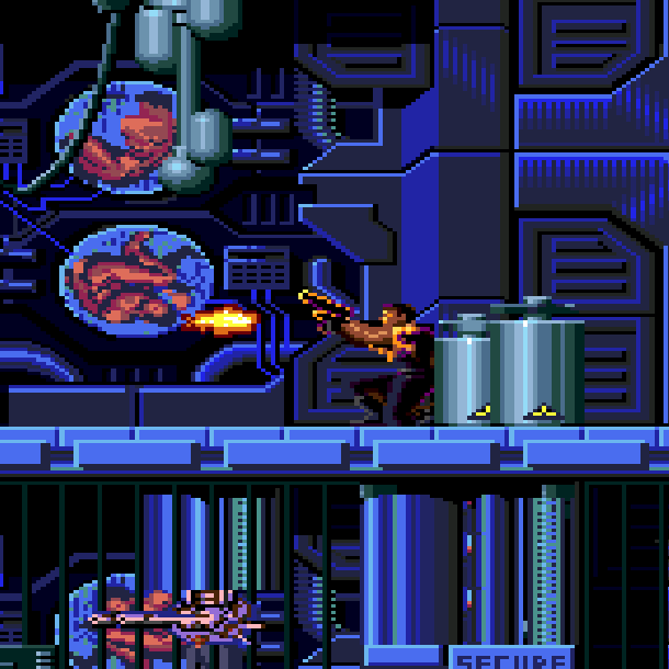 Demolition Man Sylvester Stallone Acclaim Xtreme Retro Sega Genesis Mega Drive 8