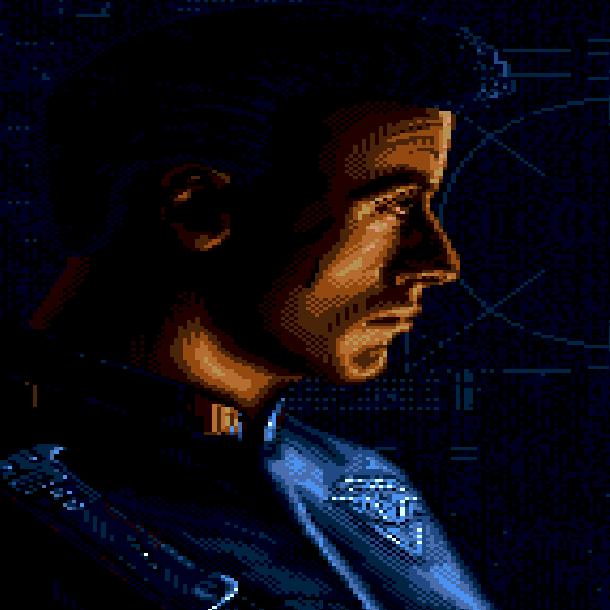 Demolition Man Sylvester Stallone Pixel Art Xtreme Retro Sega Genesis Mega Drive
