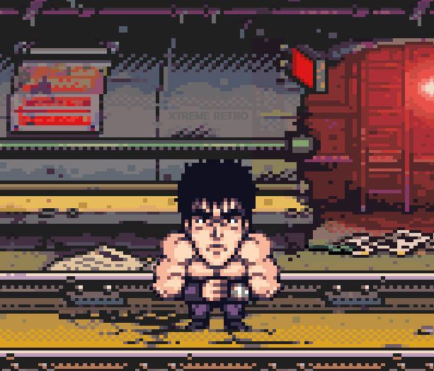 Fist of the North Star Pixel Art Xtreme Retro