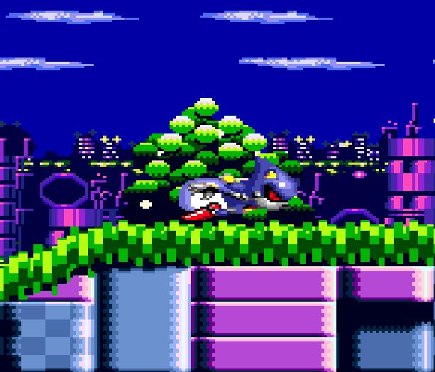 Metal Sonic Hyperdrive Sega Genesis Mega Drive Xtreme Retro 1