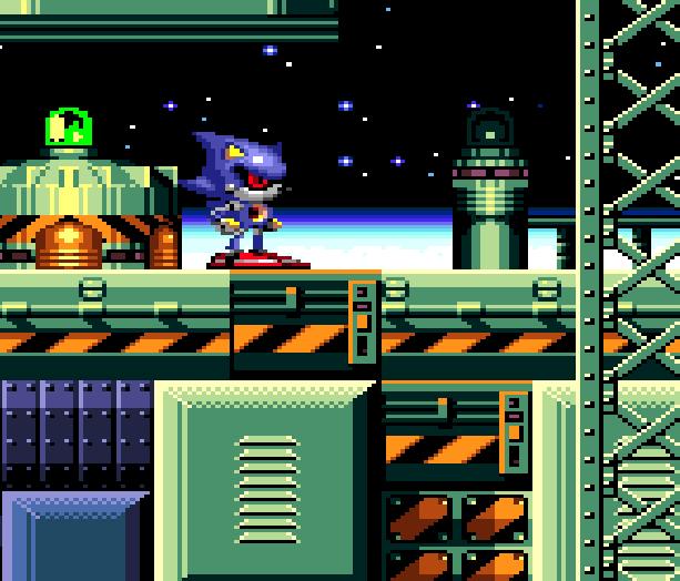 Metal Sonic Hyperdrive Sega Genesis Mega Drive Xtreme Retro 9