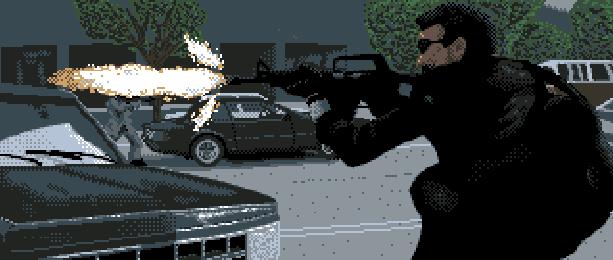 Rescue the Embassy Mission Kemko NES Xtreme Retro Pixel Art