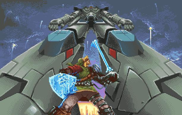 Robo Army SNK Beat em up Arcade Neo Geo Pixel Art Xtreme Retro 2
