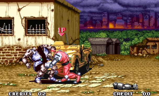 Robo Army SNK Beat em up Arcade Neo Geo Xtreme Retro 1