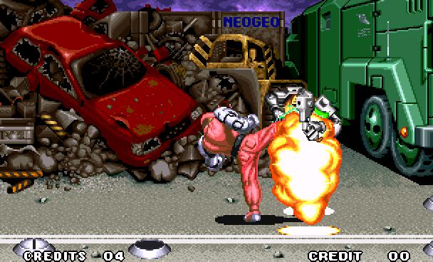 Robo Army SNK Beat em up Arcade Neo Geo Xtreme Retro 4