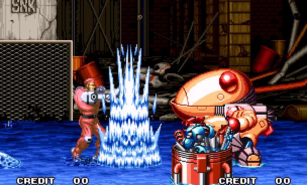 Robo Army SNK Beat em up Arcade Neo geo Xtreme Retro 6
