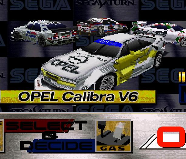 Sega Touring Car Arcade Saturn Xtreme Retro 1