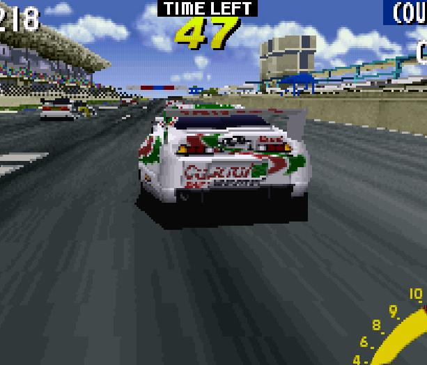 Sega Touring Car Arcade Saturn Xtreme Retro 10