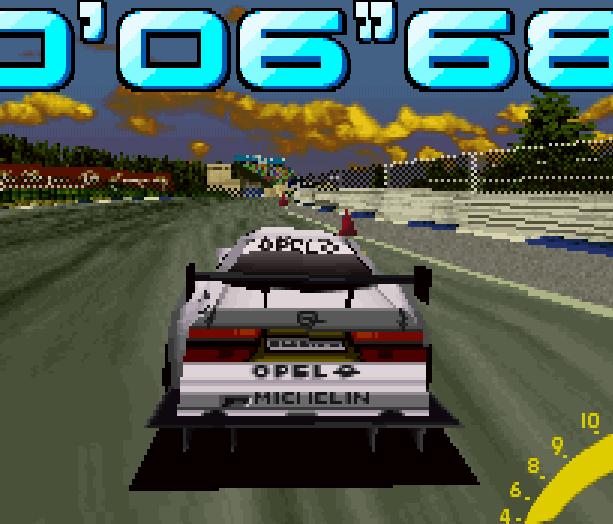 Sega Touring Car Arcade Saturn Xtreme Retro 2