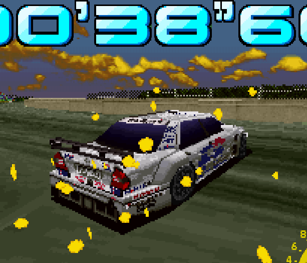 Sega Touring Car Arcade Saturn Xtreme Retro 4