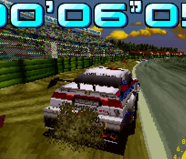 Sega Touring Car Arcade Saturn Xtreme Retro 5