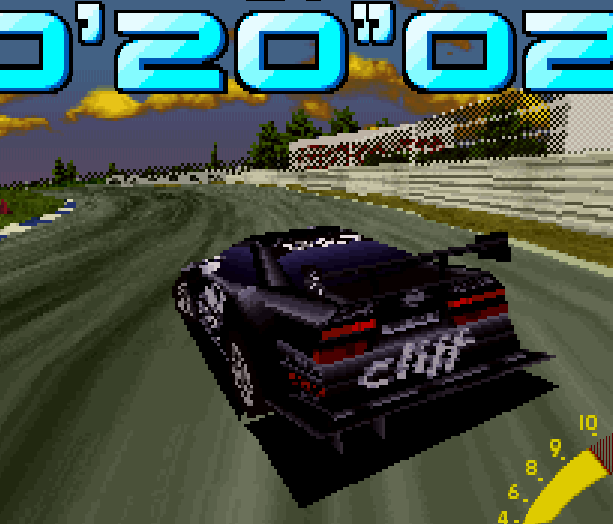 Sega Touring Car Arcade Saturn Xtreme Retro 6