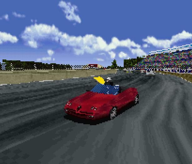 Sega Touring Car Arcade Saturn Xtreme Retro 8
