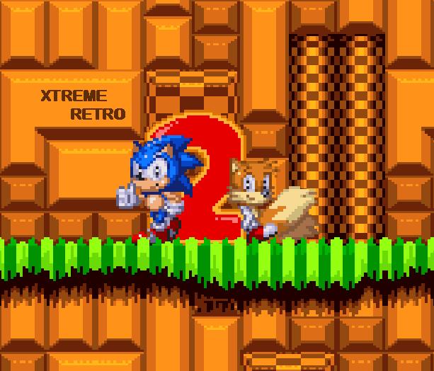 Sonic the Hedgehog 2 Sonic Team Sega Genesis Mega Drive Master System Game Gear Pixel Art Xtreme Retro