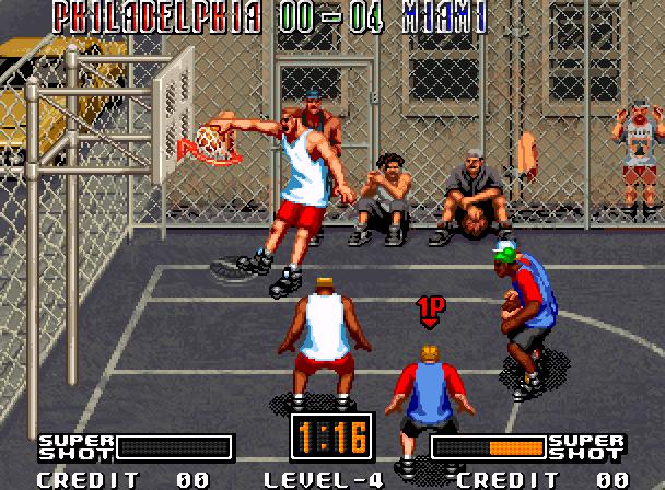 Street Hoop Data East Neo Geo Xtreme Retro 1