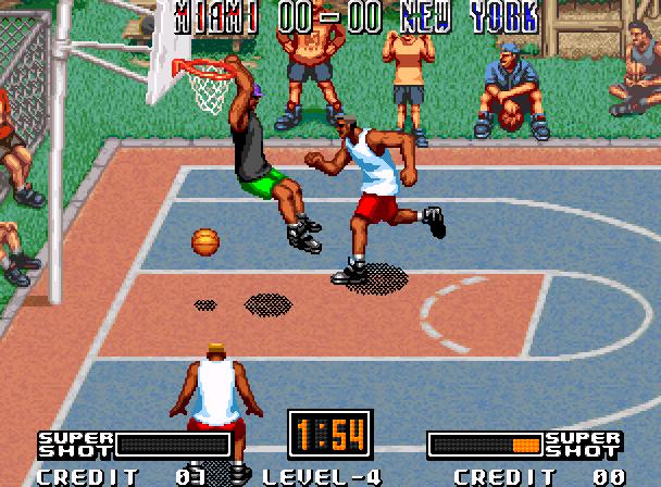 Street Hoop Data East Neo Geo Xtreme Retro 2