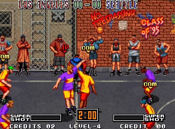 Street Hoop Data East Neo Geo Xtreme Retro 3