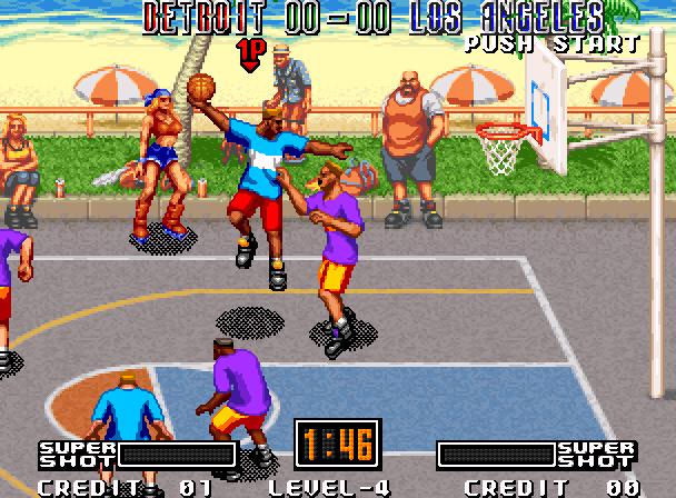 Street Hoop Data East Neo Geo Xtreme Retro 5