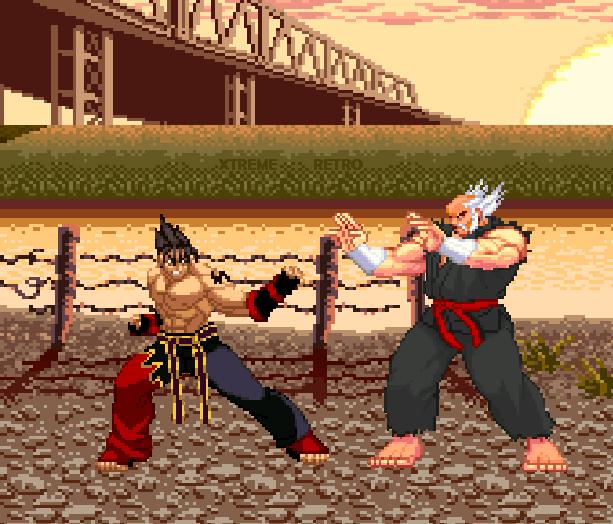 Tekken 3 Arcade PlayStation Namco Xtreme Retro Pixel Art 1