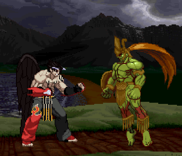 Tekken 3 Arcade PlayStation Namco Xtreme Retro Pixel Art 3