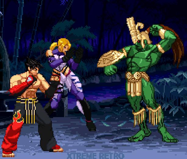 Tekken 3 Arcade PlayStation Namco Xtreme Retro Pixel Art 4