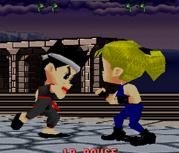 Virtua Fighter Kids AM 2 Sega Saturn Xtreme Retro 1
