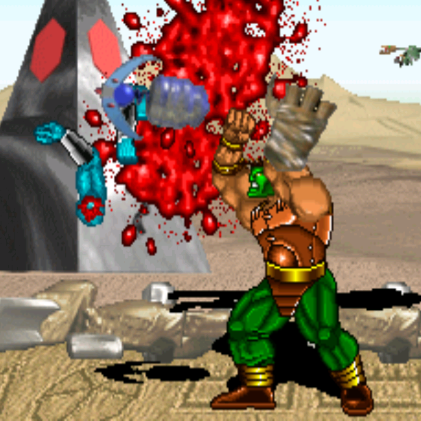 Blood Storm Arcade Xtreme Retro 2