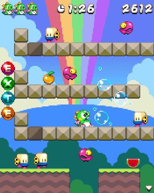 Bubble Bobble Master System Pixel Art Taito Xtreme Retro