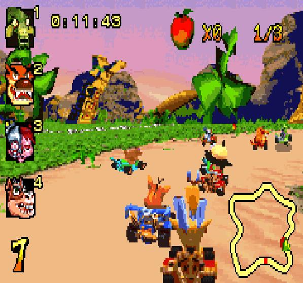 Crash Nitro Kart Game Boy Advance Xtreme Retro 2