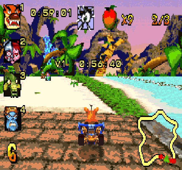Crash Nitro Kart Game Boy Advance Xtreme Retro 3