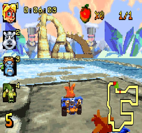 Crash Nitro Kart Game Boy Advance Xtreme Retro 4