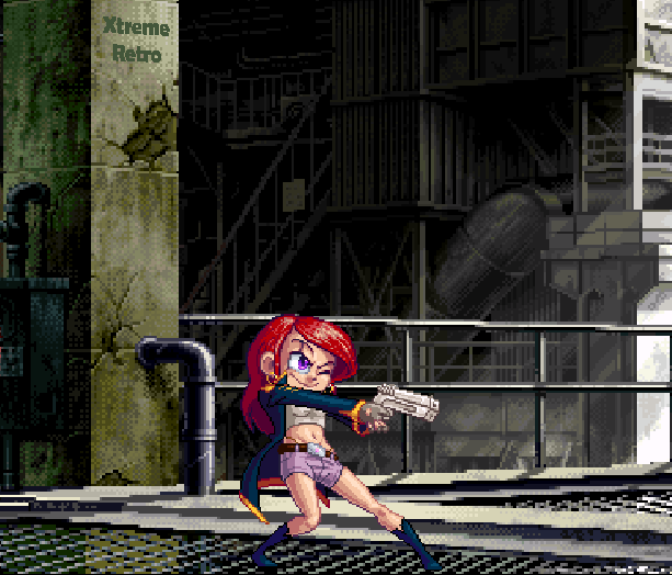 Elevator Action Returns Taito Arcade Sega Saturn Pixel Art Xtreme Retro