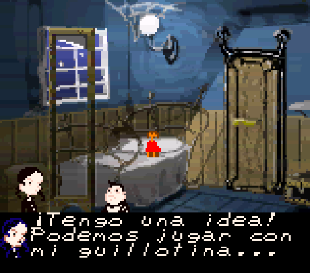 New Addams Family Game Boy Color Graphic Adventure Xtreme Retro 2