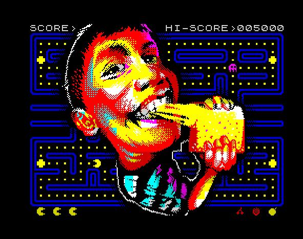 Pacman Pixel Art Namco Arcade Coin Op Xtreme Retro