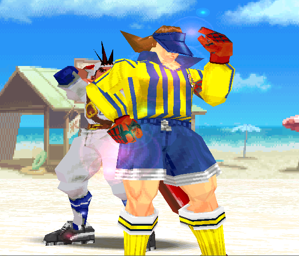 Rival Schools United by Fate Capcom Arcade PlayStation PSOne Xtreme Retro 25