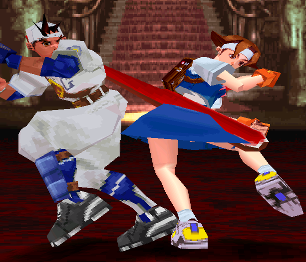 Rival Schools United by Fate Capcom Arcade PlayStation PSOne Xtreme Retro 30