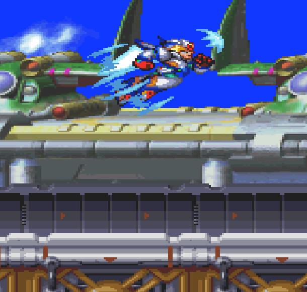 Rockman Megaman X6 Capcom Sony PlayStation PSOne Falcon Armor Xtreme Retro 5