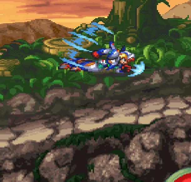Rockman Megaman X6 Capcom Sony PlayStation PSOne Falcon Armor Xtreme Retro 6