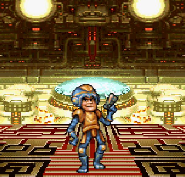 Rockman Megaman X6 Capcom Sony PlayStation PSOne PSX Pixel Art Xtreme Retro
