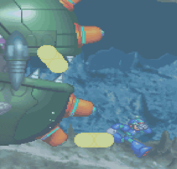 Rockman Megaman X6 Capcom Sony PlayStation X Armor Xtreme Retro 11