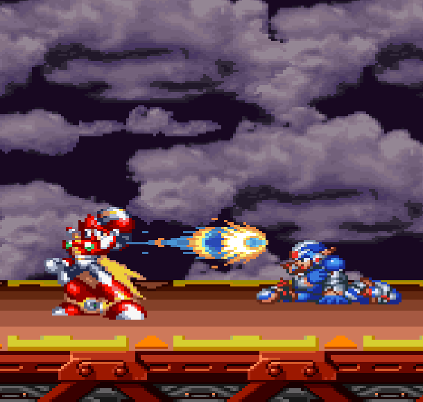 Rockman Megaman X6 Capcom Sony PlayStation Zero Vs X Xtreme Retro