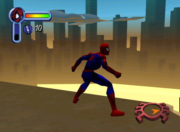 Spiderman Neversoft Activision Marvel Entertanment PlayStation PSOne PSX Nintendo 64 N64 Sega Dreamcast DC Microsoft Windows Xtreme Retro 5