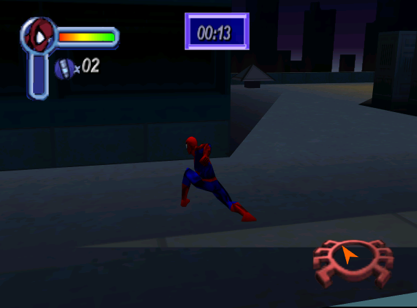 Spiderman Neversoft Activision Marvel Entertanment PlayStation PSOne PSX Nintendo 64 N64 Sega Dreamcast DC Microsoft Windows Xtreme Retro 6