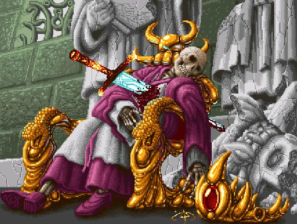 Sword of Sodan Electronic Arts Amiga Sega Genesis Mega Drive Pixel Art Xtreme Retro