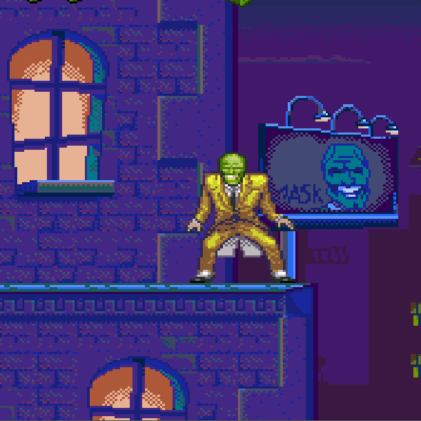 The Mask THQ Super Nintendo SNES Jim Carrey Videogame Xtreme Retro 11