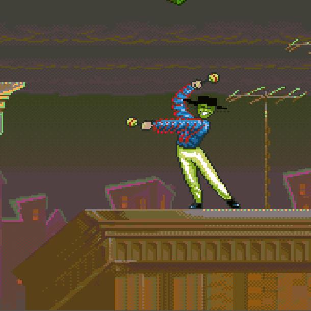 The Mask THQ Super Nintendo SNES Jim Carrey Videogame Xtreme Retro 13