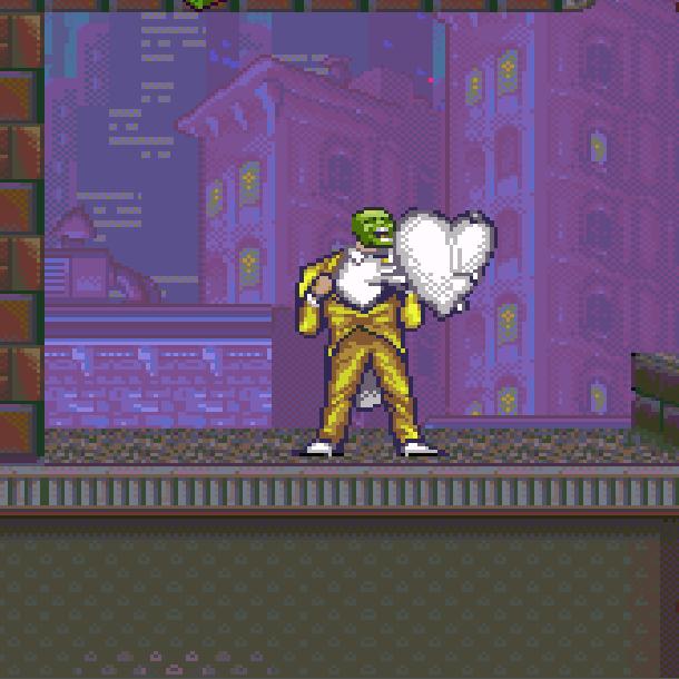 The Mask THQ Super Nintendo SNES Jim Carrey Videogame Xtreme Retro 15