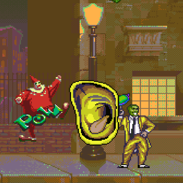 The Mask THQ Super Nintendo SNES Jim Carrey Videogame Xtreme Retro 4