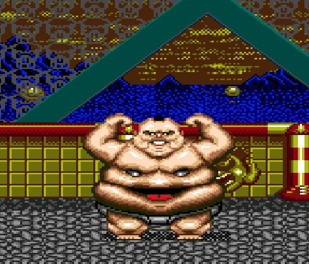 Tongue of the Fatman - Fatman - Mondu's Fight Palace - Slaughter Sport - IBM PC Commodore 64 Genesis 1989 Xtreme Retro 1 Basurero